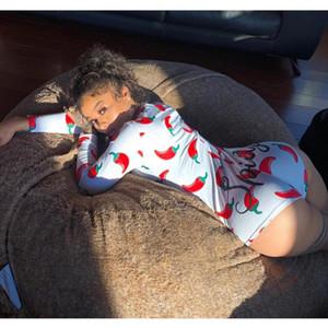 10 لون المرأة نوم Playsuit 2020 تجريب زر نحيل الساخن طباعة حللا V الرقبة قصيرة نيسيس النساء بالاضافة الى حجم ثوب فضفاض للأطفال 0988