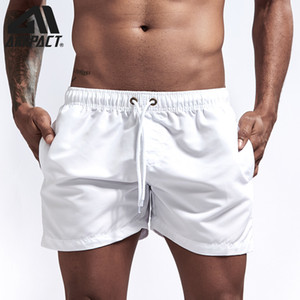 Aimpact Quick Dry Board Shorts for Men Summer Casual Beach Surfing Swimming Short Trunks Male Running Jogging Swim Shorts AM2166 CX200605