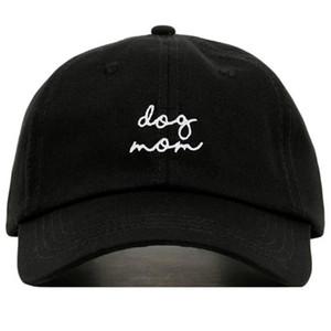 100 ٪ القطن أزياء DOG MOM التطريز قبعة بيسبول قبعة قابل للتعديل أبي القبعات الجديدة في الهواء الطلق الهيب هوب قبعات للجنسين جميع المتطابقة