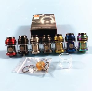 Top qualité Geekvape Zeus X RTA Atomiseur électronique E Cigarette Vape 4.5ml 25 mm simple / double bobine plate-forme du réservoir pour Aegis X 200W 510 Box Mod Kit