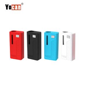 Original Yocan Rega Box Mod 320 mAh Bateria Mod Voltage Vape Ajustável Com 510 Adaptador Para O Cartucho De Óleo De Espessura