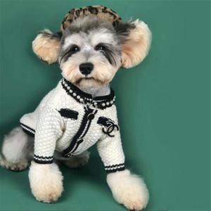 Pet Kış Coat Vintage Stil Pet Yün Coat Moda Köpek outwears Sıcak Pet Köpek Giyim Teddy Bulldog Schnauzer Giyim