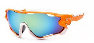Gros-mode hommes vent lunettes de soleil sports spectacles femmes lunettes homme Cyclisme Sports Plein air équitation Lunettes de soleil 8color livraison gratuite