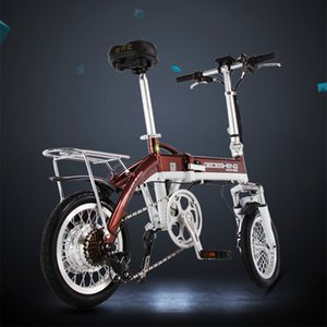 14 inch foldingfolding Electric Bicycle 48V ultra-light aluminum Electric Bicycle