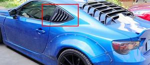 FOR CARBON FIBER Scion FRS GT86 BRZ 2013-2018 Side Vent Window Quarter Scoop Louver