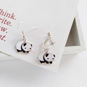 Fancy Cute Girls Animal Panda Drop Earrings For Women Wholesale New Product Jewelry For Children,Gifts