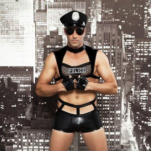 Men's sexy uniforms, temptation bars nightclubs, role-playing costumes, sexy lingerie 6603
