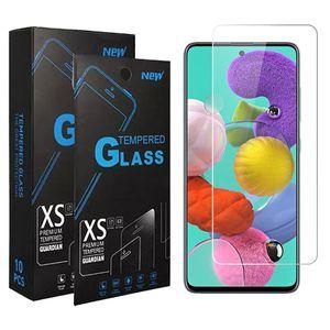 خفف من الزجاج للحصول على سامسونج A01 A11 A21 A51 A71 A21S 5G غالاكسي A10S A20S ملاحظة 10 S10 ايت حامي الشاشة واضحة