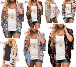2020 İlkbahar Yaz Kadın Kum Rüzgar Baskı Güneş Gömlek Kimono Şal Güneş Koruma Bluz Kız Giyim Toptan