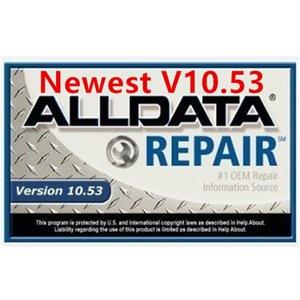 Программное обеспечение для автоматического ремонта 750 ГБ ALLDATA Все данные 2020 Ремонт данных 10.53 с горячим HDD программным обеспечением программного обеспечения Автомобильные автомобили Alldata для DGBTF