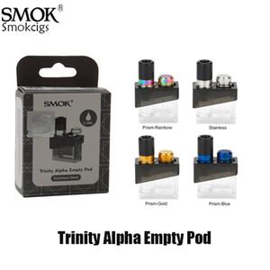 Autêntica Fumaça Trindade Alfa Substituição Vazia Atomizador 2.8 ml cartucho Fit Com Nord MTL Nord bobinas de malha Para Trindade Kit Alpha