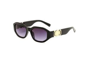 2020 جودة عالية 4361 مصمم ميدوسا العلامة التجارية النظارات الشمسية النظارات خشب جديدة للرجال والنساء أزياء النظارات الجاموس الشمس مع حالة مربع