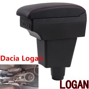 Для Dacia Logan подлокотника Box Logan 2 Центрального подлокотник Хранения Универсальных автомобильной Box Модифицированных аксессуаров