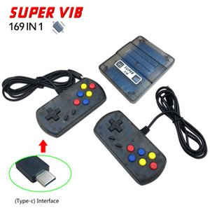 SUPER VIB consola de vibração do console de videogame pode armazenar 169 jogos SNES vibração jogo vermelho branco máquina PK PXP3 PVP FC consoles de jogos para casa