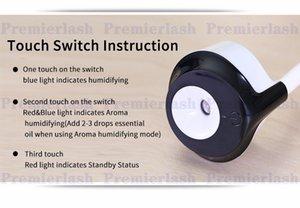 DHL frete grátis 12 V Portátil Auto Mini Purificador De Ar Do Carro Umidificador de Vapor Aroma Aromaterapia Difusor de Óleo Essencial Névoa Criador Mini Fogger