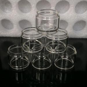 Tubo in vetro convesso con prolunga Bulbo grasso per tubo fumogeno per Smok Stick V9 Max Vaporesso Sky Solo Plus kit atomizzatore per serbatoio