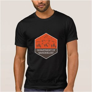 Anlarach Print Comical department of wanderlust men's t shirt Gift Natural Cycle t-shirt mens Pattern tshirt large