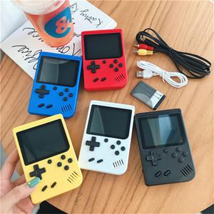 SUP 미니 핸드 헬드 게임 콘솔 레트로 휴대용 비디오 게임 콘솔 캔 스토어 (400 개) 게임의 경우 8 비트 3.0 인치 컬러 LCD 크래들 디자인