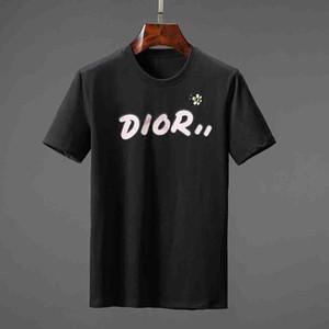Fashion Star uomo stampa di lusso T shirt girocollo Hip hop Skateboarding Tee T-shirt per la Mens Tops delle magliette abbigliamento Designer Maschio