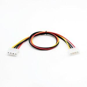 Bilgisayar Kabloları Konnektörler 1pc 50cm / 1.5ft IDE 4 PIN Molex Güç Erkek IDE 4'e PIN Molex Kadın Jak Uzatma Adaptör Bağlantı Kablosu