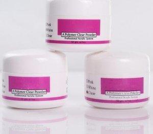 Acrílico Em Pó De Cristal Polímero Nail Art Tips Construtor Falso Ferramentas Pó Acrílico Para O Prego Branco Claro Rosa Cor Pick 1