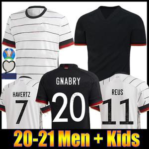 발 드 2020 남자와 아이 독일 13 MULLER 홈 / 어웨이 축구 유니폼 8 KROOS 축구 셔츠 5 HUMMELS 17 BOATEN 새로운 타이츠