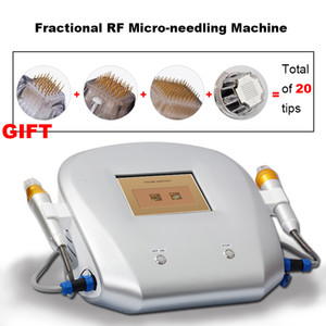 Wrinkle remover RF microneedle facial equipment face lift anti-aging fractional micro needle skin tightening machine
