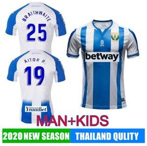 2019 kits enfant de football Leganes J. SILVA FR-NESYRI SANTOS football T-shirt EL Zhar Juanfran DANI Ojeda ROLAN le football calcio