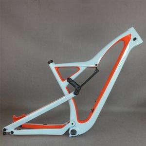 MTB 2020 All Mountain nuevo cuadro de la bicicleta 29er Boost fibra de carbono MTB Full Suspension cuadro de la bicicleta 135-152mm Travel