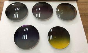 Lente polarizzata di nuova generazione con gradiente di colore Base alta personalizzata per occhiali da sole stile pilota grande -6.00 / -2.00 sport di guida diurna