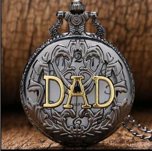 2019 New Arrival Moda pai do relógio de bolso para o dia presente Assista Pai Dady Pai