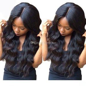 H Körper-Wellen-Silk Basis Perücken Glueless Silk oberste volle Spitze-Perücken Silk Top Lace Front Perücken brasilianischen Jungfrau-Haar-volle Spitze-Perücke