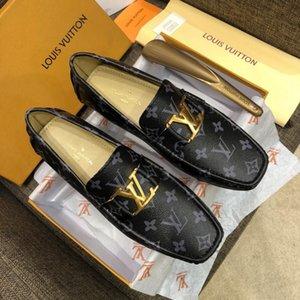 2020 Tasarımcılar marka İtalyan Monk Askı Loafer Kayma Düz Ayak Gerçek Deri Oxford Resmi Iş Rahat Rahat Elbise Ayakkabı