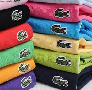 2020 짧은 소매 남성 폴로 셔츠 버튼 슬림핏 여름 캐주얼 Camisas 폴로 남성 브랜드 블랙 화이트 레드 퍼플 크기 6XL D6