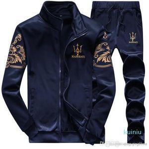 High Brand Tracksuits Men Leisure Sport Suit Luxury Men &#039 ;S Sportswear Brand Hoodies Hip Hop Jogger Set Sweatshirt Plus Size 4xl Free