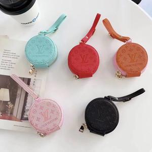 De lujo de marcas monedero clásico carcasas para Airpods estuche adecuado para el paquete de Apple airpods airpods Pro auriculares