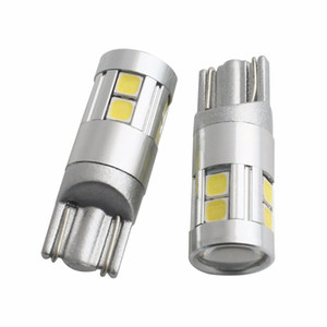 2PCS Fitted for Opel Astra Renault Captur Peugeot 208 306 308 Nissan Juke Skoda Octovia 9W T10 W5W 158 194 CAN-bus Bulbs