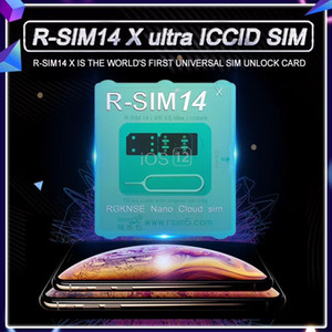 iphoneXs max, XR, XS, X, ios12.2,12.3 용 자동 R-SIM 14X RSIM14 rsim14 잠금 해제 자동 팝업 메뉴