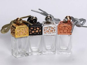 New car pendant perfume bottle 5   10ml water cube car glass bottle
