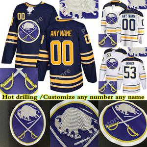 Hot drilling version Buffalo sabers jerseys 9 Jack Eichel 26 Rasmus Dahlin 53 Jeff Skinner 55 RISTOLAINEN 23 REINHART hockey jersey