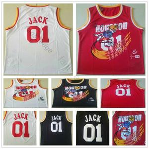 NCAA TRAVIS совместно отчет о Bleasher отчет 01 Джек черный белый красный специальный сшитый хиппс баскетбол Scott x Br X Mn Jersey рубашка