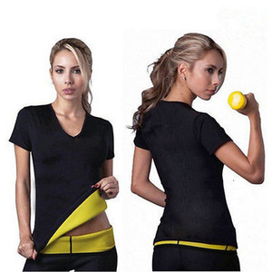 Neoprene Bodyshaper Hot Slimming cintura fina de Mulheres Negras de Fitness Shapers Tops Mulheres Intimates roupa