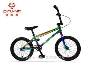 DINAMO alluminio 16Inch bmx struttura della lega Rappresentazione bici bicicletta pneumatico per stunt show acrobatico posteriore operato strada bicicletta