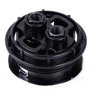 / 58mm 38/48 Çift Flush Düğmesi Tuvalet Çubuk Cilt Su Tasarrufu Krom Kaplama Araçları Drop Shipping ABS