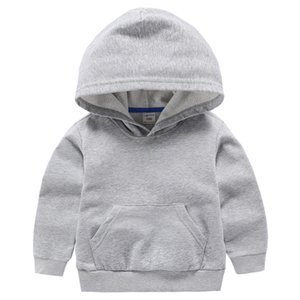 VIDMID Boys jackets for girls kids hooded coat T-shirt Baby Boys Clothes Long Sleeve sweater Children's clothing tops 7060 02 Y200704