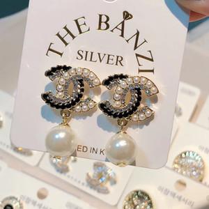 2019 mais presente brincos jóia da liga de strass moda jóias de luxo amante estilo elegante
