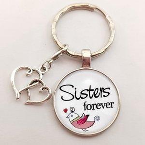 Ручной Key Chain Родитель-ребенок член семьи Для Keychain Лучшая мама сестра Брат Подарки