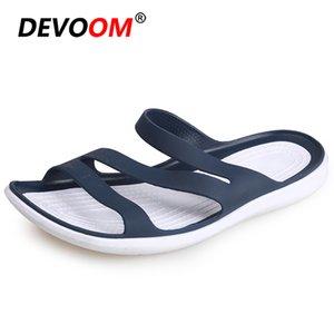 Outdoor Beach Sandals Women Soft Comfort Slip on Slippers Women Summer Female Shoes Non-slip Sandalias Mujer 2020 Flip Flops 40 Y200520