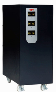 PRO-3-6KVA YIY AC automatic voltage regulator stabilizer 6KVA  overload protection servo type colorful display support customize 3-phase