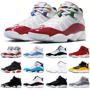 2020 UNC 6 6s ring men women basketball shoes multicolor south beach concord outdoor mens trainers sports sneakers size 5.5-13